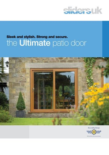the Ultimate patio door