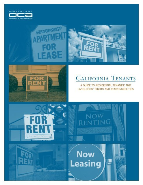 California tenants.
