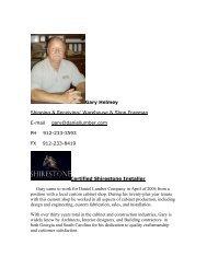 gary helmey.pdf - Daniel Lumber
