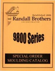 Randall Brothers 9800 Series - Daniel Lumber