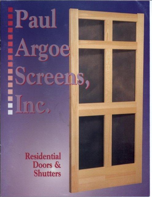 Paul Argoe Shutters.pdf - Daniel Lumber