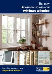 The new Statesman Professional windows collection