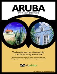 The best places to eat, sleep and play in Aruba this ... - TripAdvisor