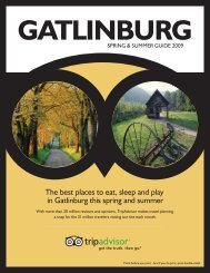 The best places to eat, sleep and play in Gatlinburg ... - TripAdvisor
