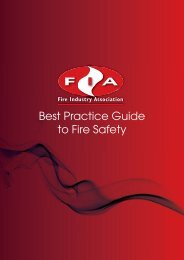 Best Practice Guide to Fire Safety - Fire Industry Association - UK.com