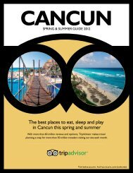 The best places to eat, sleep and play in Cancun this ... - TripAdvisor