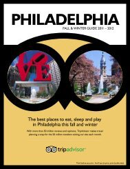 The best places to eat, sleep and play in Philadelphia ... - TripAdvisor