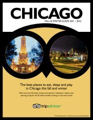 The best places to eat, sleep and play in Chicago this ... - TripAdvisor