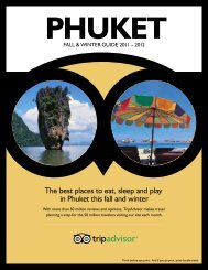 The best places to eat, sleep and play in Phuket this ... - TripAdvisor
