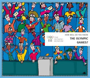 THE OLYMPIC GAMES? - International Olympic Committee