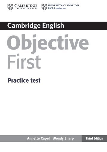 the full practice test - Cambridge University Press