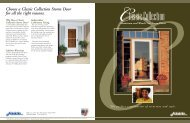 Choose a Classic Collection Storm Door for all the right reasons
