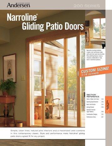 Gliding Patio Doors