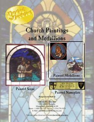 Church Paintings and Medallions