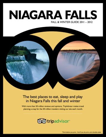The best places to eat, sleep and play in Niagara Falls ... - TripAdvisor