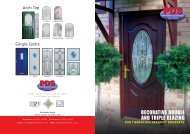 DECORATIVE DOUBLE AND TRIPLE GLAZING