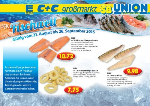 EDEKA C+C Großmarkt SB Union