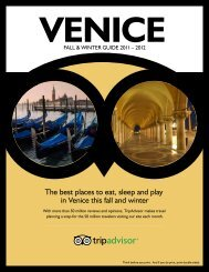 The best places to eat, sleep and play in Venice this ... - TripAdvisor