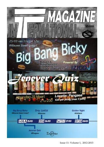 Issue 11- Volume 1 2012-2013