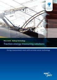 Traction energy measuring solutions