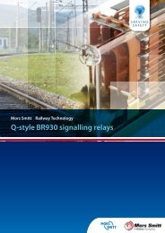 Q-style BR930 signalling relays