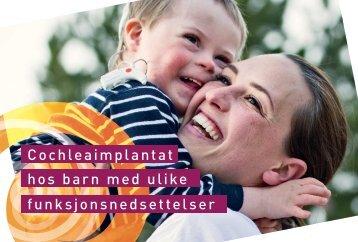 CI - Cochleaimplantat hos barn med ulike funksjonsnedsettelser
