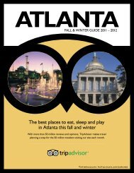 The best places to eat, sleep and play in Atlanta this ... - TripAdvisor