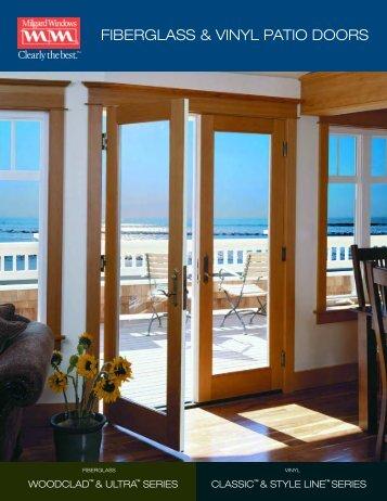 FIBERGLASS & VINYL PATIO DOORS