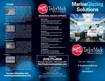 MarineGlazing Solutions