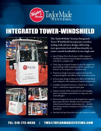 INTEGRATED TOWER-WINDSHIELD