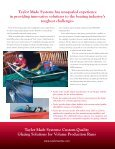 Water Bonnet Manufacturing - Taylor Made Systems - Page 4