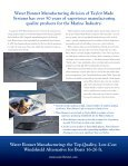 Water Bonnet Manufacturing - Taylor Made Systems - Page 6