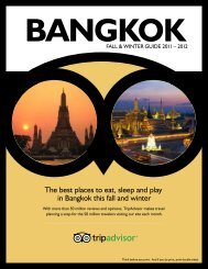 The best places to eat, sleep and play in Bangkok this ... - TripAdvisor