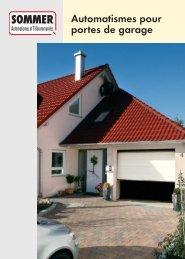 Automatismes pour portes de garage
