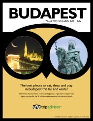 The best places to eat, sleep and play in Budapest this ... - TripAdvisor