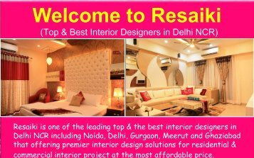 Office Interior Designers in Delhi, Noida & Gurgaon