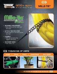 MILLE-TIE® - Dorman HD Solutions