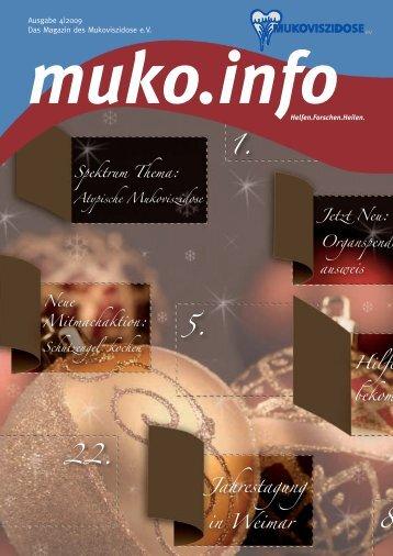 3014539 Muko Info 4_09 US.indd - Mukoviszidose e.V.