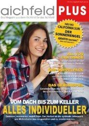 Aichfeld Plus Magazin September 2015