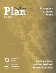 COVER-FINAL PBA Local Street and Road Needs ... - One Bay Area