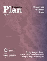 Strategy for a Sustainable Region Equity Analysis Report