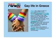 Gay life in Greece - World Rainbow Hotels