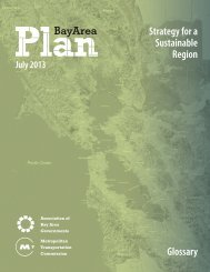 Strategy for a Sustainable Region Glossary