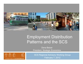 Patterns and the SCS