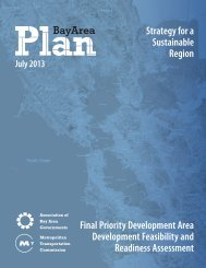 Strategy for a Sustainable Region Final Priority ... - One Bay Area