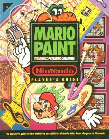 Mario Paint - SNES - Nintendo