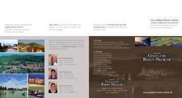 PDF-Downloaden - Golfland Rhein-Neckar