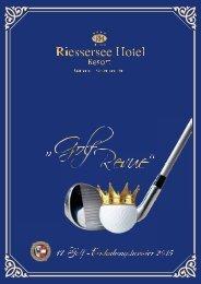 Golf-Revue Riessersee Hotel Resort 2015
