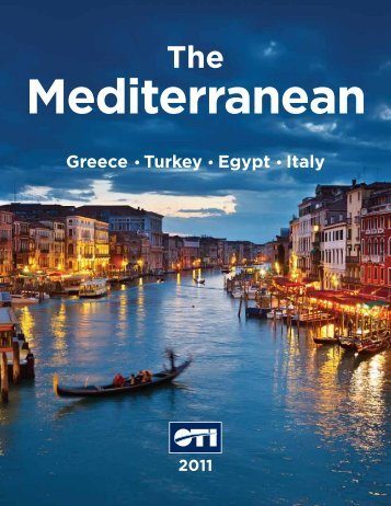 Greece Turkey Egypt Italy - Mediterranean Holidays Packages