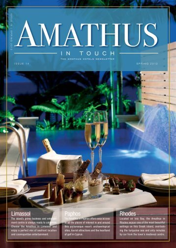 Issue 14, Spring 2012 - Amathus Beach Hotel